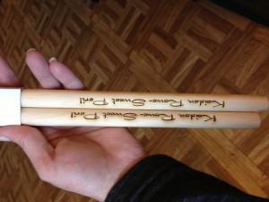 Kaidan Rowe Sweet Peril Drumsticks