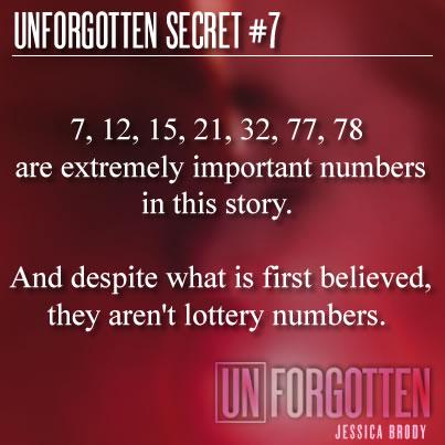 Unforgotten Secret 7